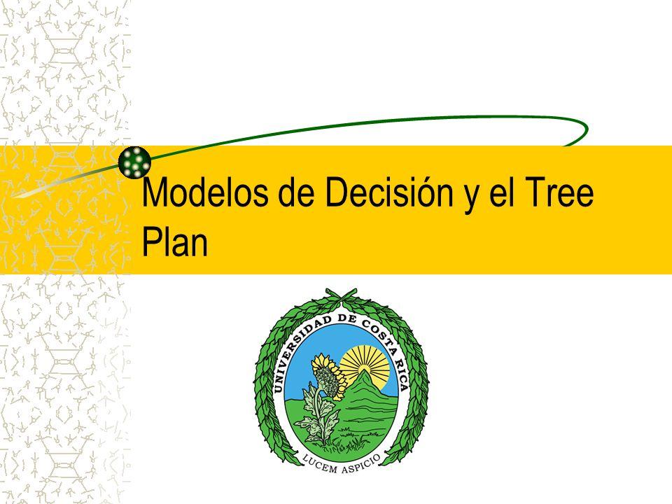 Modelos de Decisión y el Tree Plan