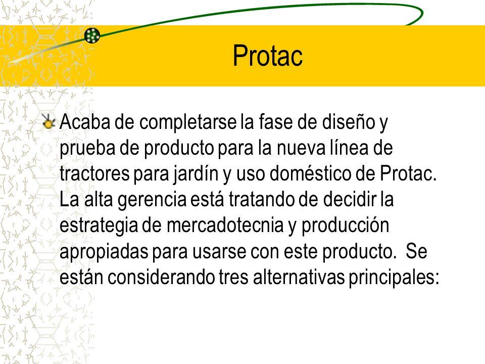 Protac Acaba de completarse la fase de diseño y prueba de producto para la nueva línea de tractores para jardín y uso doméstico de Protac. La alta ger