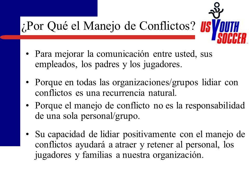 Desarrollar una mejor comprensión de su habilidad para manejar conflictos. Obtener consejos y técnicas para manejar mejor los conflictos en situacione