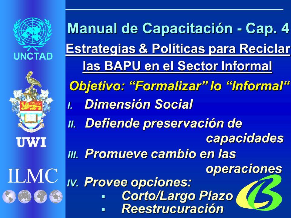 ILMC UNCTAD UWI Manual de Capacitación - Cap.