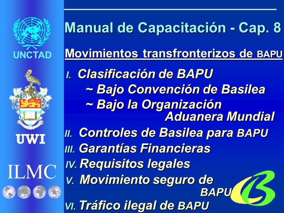 ILMC UNCTAD UWI Salud y Seguridad Laboral Salud y Seguridad Laboral I.