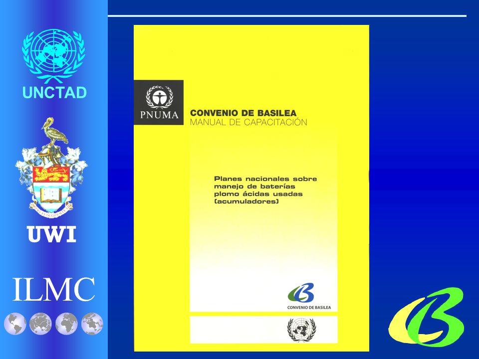 ILMC UNCTAD UWI Manual de Capacitación la Preparación de Planes Nacionales para la Gestión de Baterías Ácidas de Plomo para