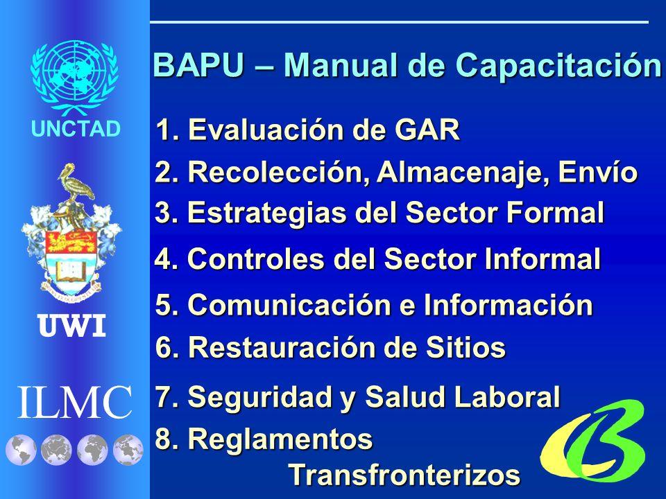 ILMC UNCTAD UWI Venezuela Trinidad & Tobago Colombia México Panamá Costa Rica República Dominicana El Salvador St.