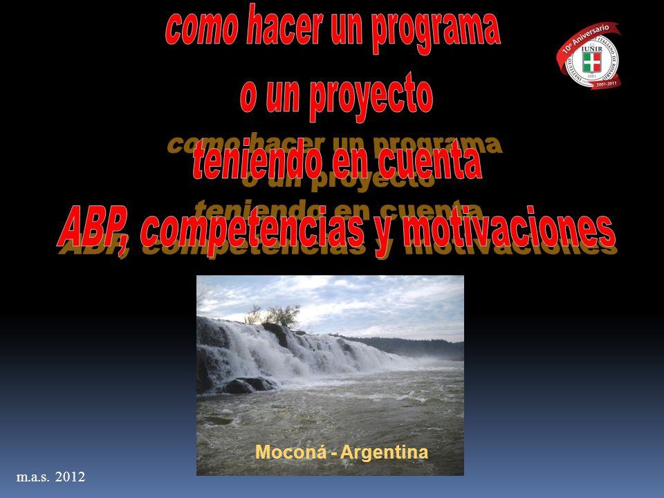 m.a.s. 2012 Moconá - Argentina