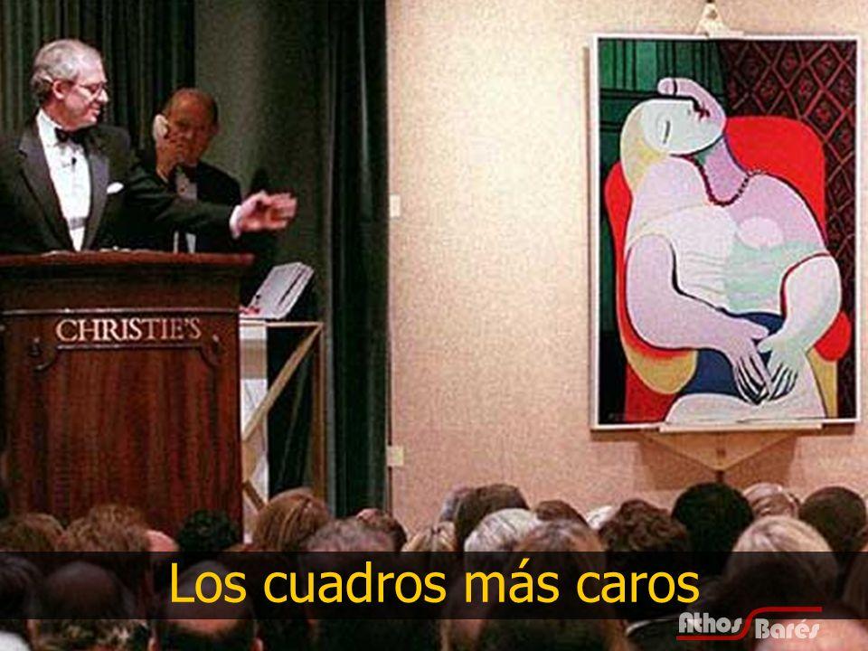 12 Nº 1 1.$ 140.000.000 2.Number 5 3.1948 4.Jackson Pollock 5.Vendido por David Geffen, 2006, a David Martínez con intermediación de Sothebys.
