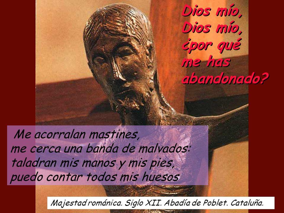 SALMO 21 Dios mío, Dios mío, ¿por qué me has abandonado.