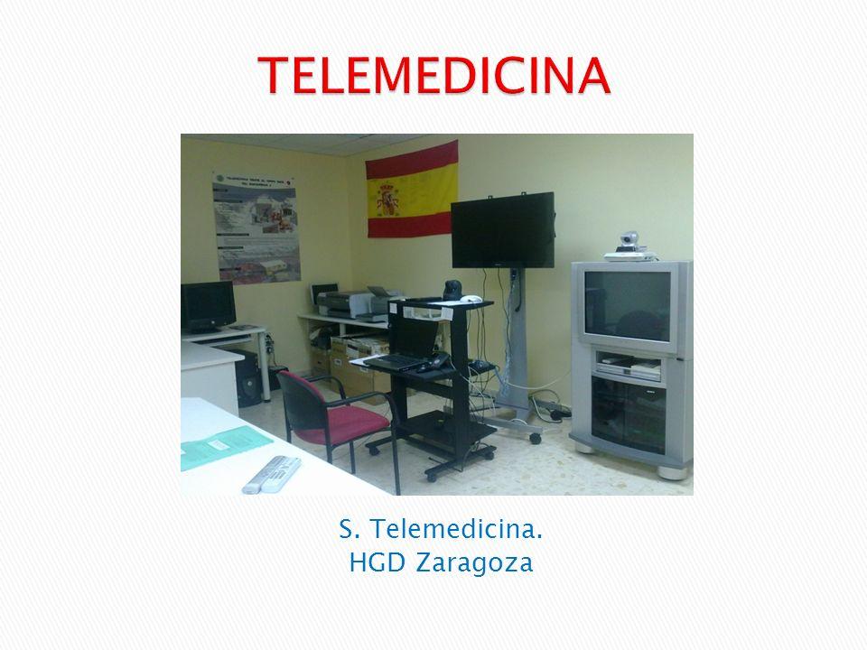 S. Telemedicina. HGD Zaragoza