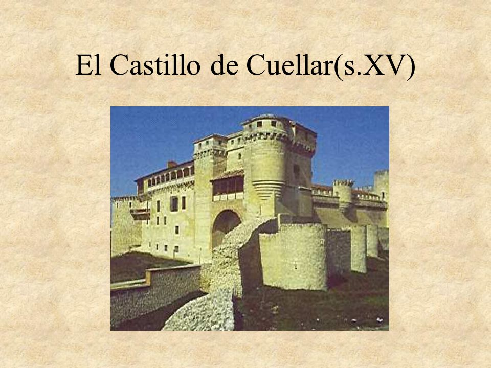 Un castillo árabe con muchas almenas.(Córdoba s. XIV)