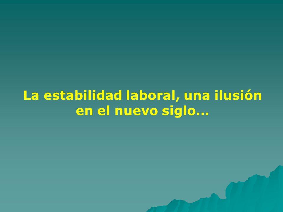 La estabilidad laboral, una ilusión en el nuevo siglo…