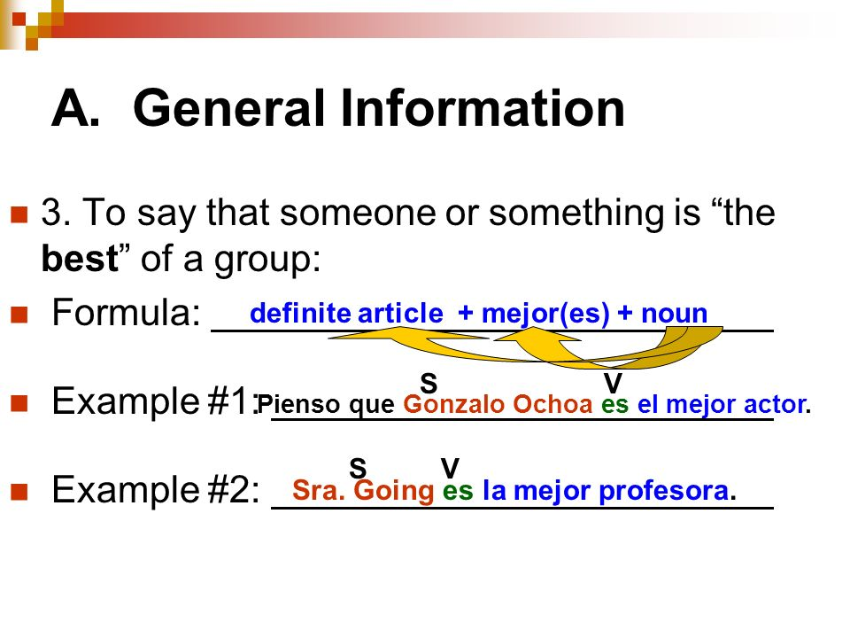 A. General Information 3.