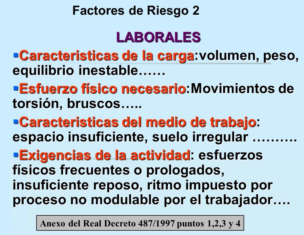 CARGA DE TRABAJO La carga de trabajo es un factor de riesgo presente en todas las actividades laborales y en cualquier empresa.
