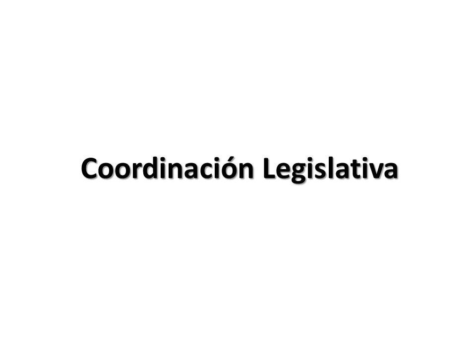 Coordinación Legislativa
