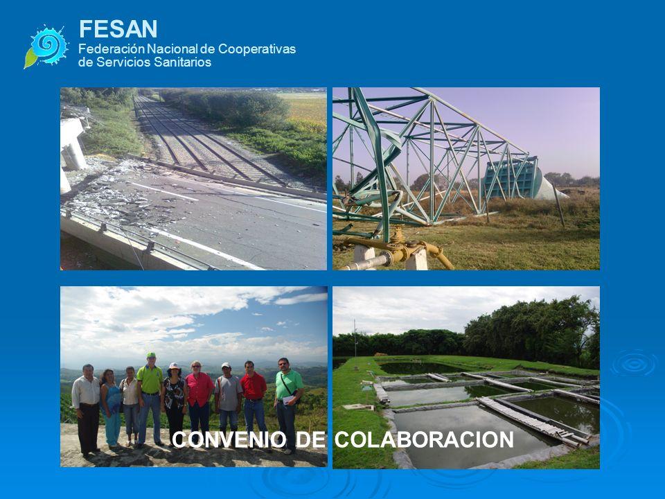 FESAN Federación Nacional de Cooperativas de Servicios Sanitarios CONVENIO DECOLABORACION COOPERATIVE