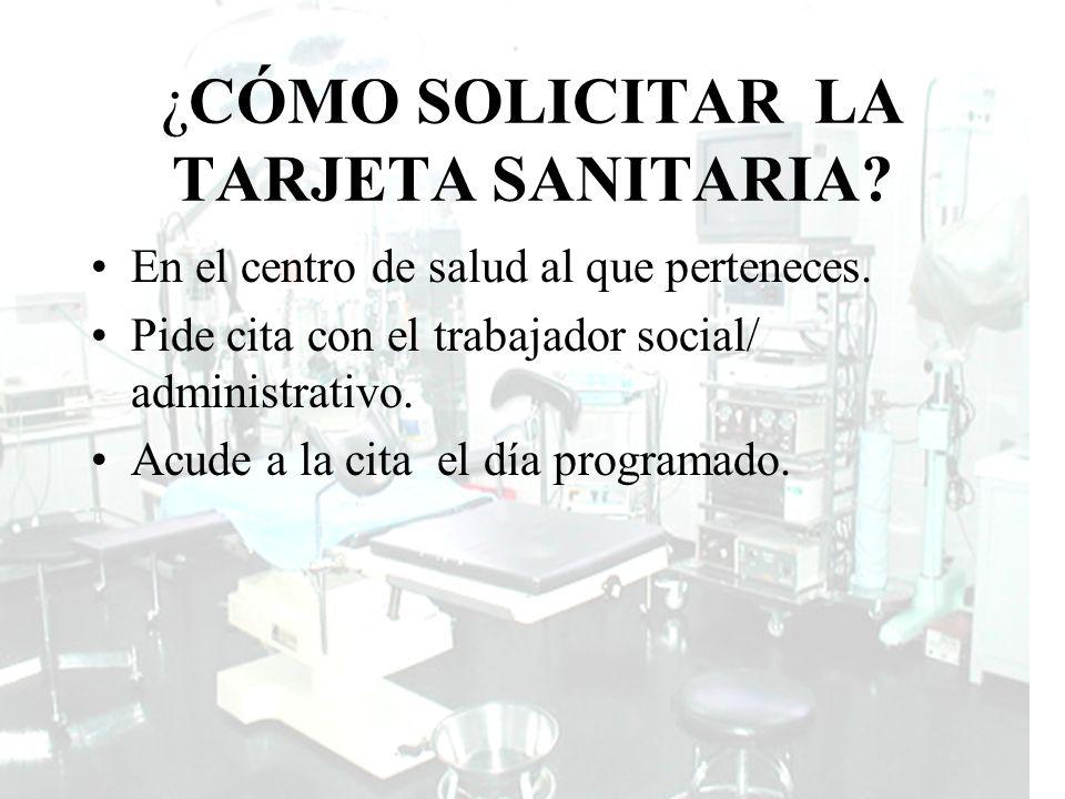 Guía de Recursos de la población Inmigrante DOCUMENTACION PARA OBTENER LA TARJETA SANITARIA regularizados Certificado de empadronamiento.
