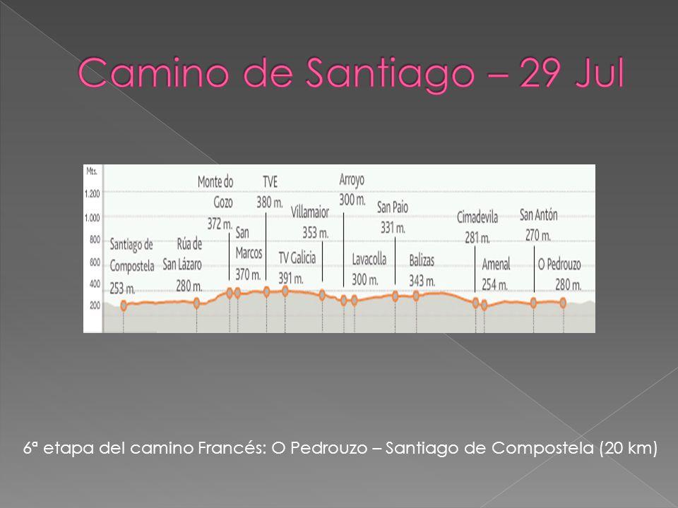 6ª etapa del camino Francés: O Pedrouzo – Santiago de Compostela (20 km)