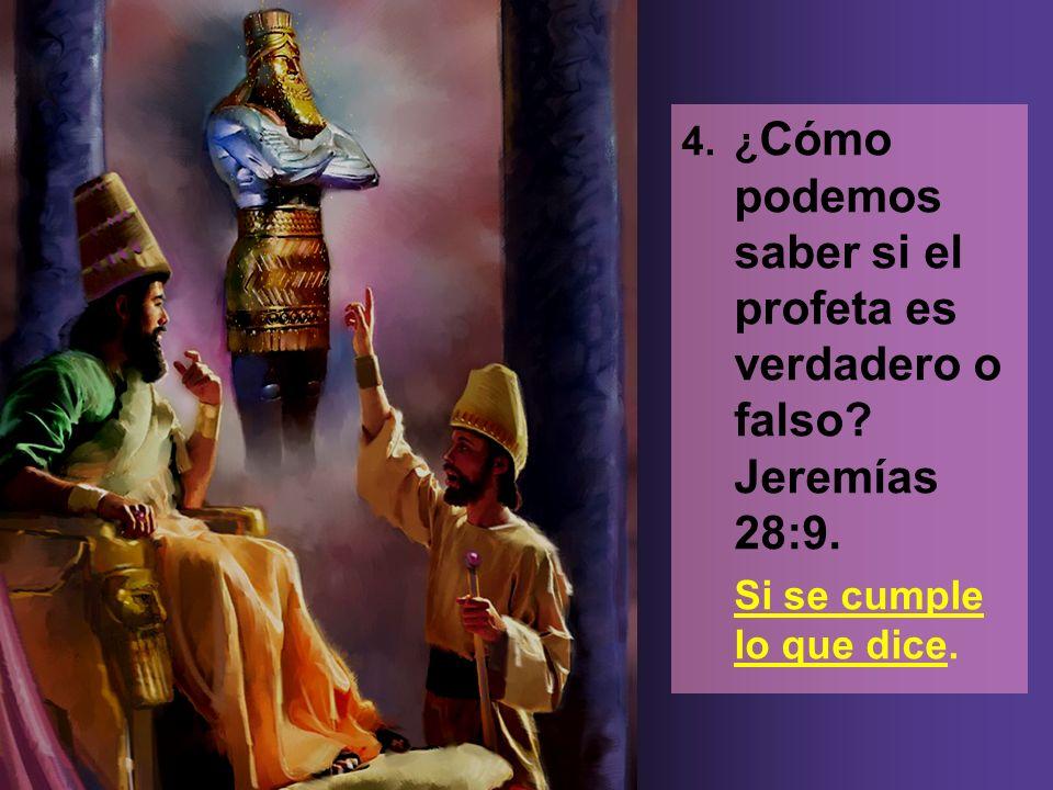 5.¿Quién es el autor del don de profecía (de ser profeta).