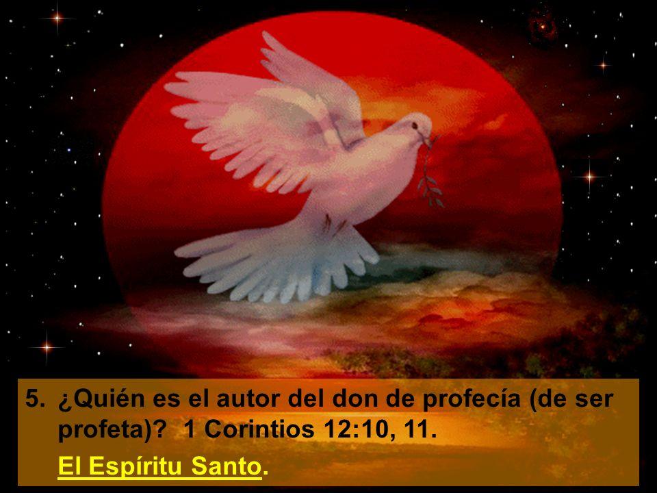 6.¿Puede una mujer tener el don de ser profeta (el don de profecía)? Joel 2:28, 29. Sí.