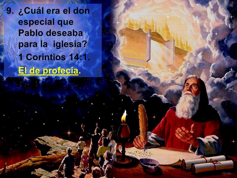 10.¿Cuáles serían las dos características más sobresalientes del remanente de Dios en los últimos días.