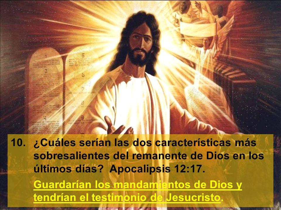 11.¿Cómo define el apóstol Juan lo que es el testimonio de Jesucristo.