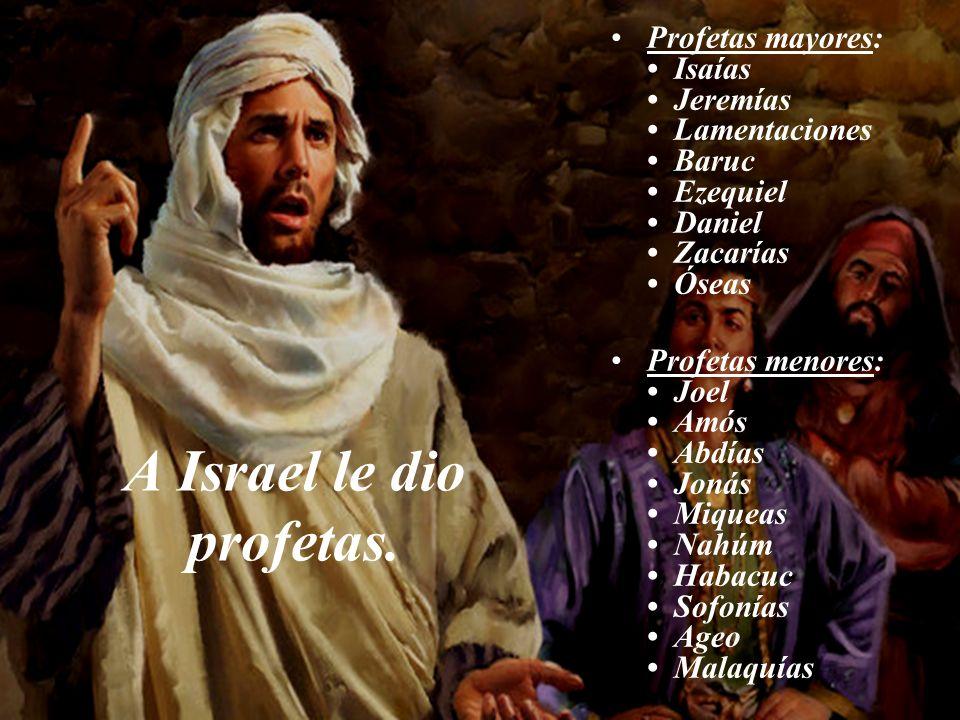 A la Iglesia apostólica le dio profetas. Profetas del Nuevo Testamento: Juan el Bautista Pablo Juan