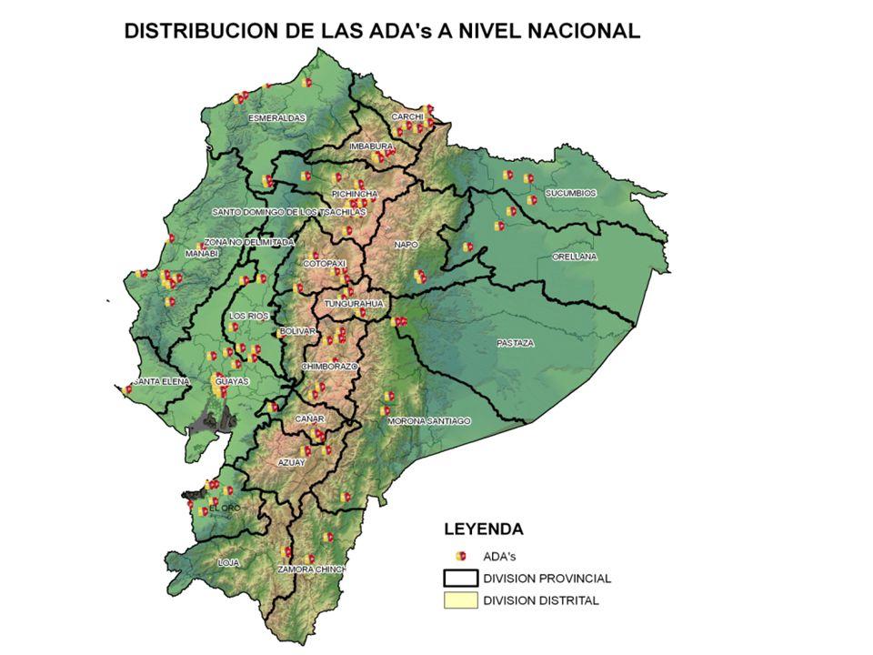 PORCENTAJE DE COBERTURAS DE ATENCION PREVENTIVA (PRIMERA CONSULTA) EN ADOLESCENTES POR GRUPOS DE EDAD ECUADOR (2005 -2006-2007-2008-2009-2010) Fuente: MSP.