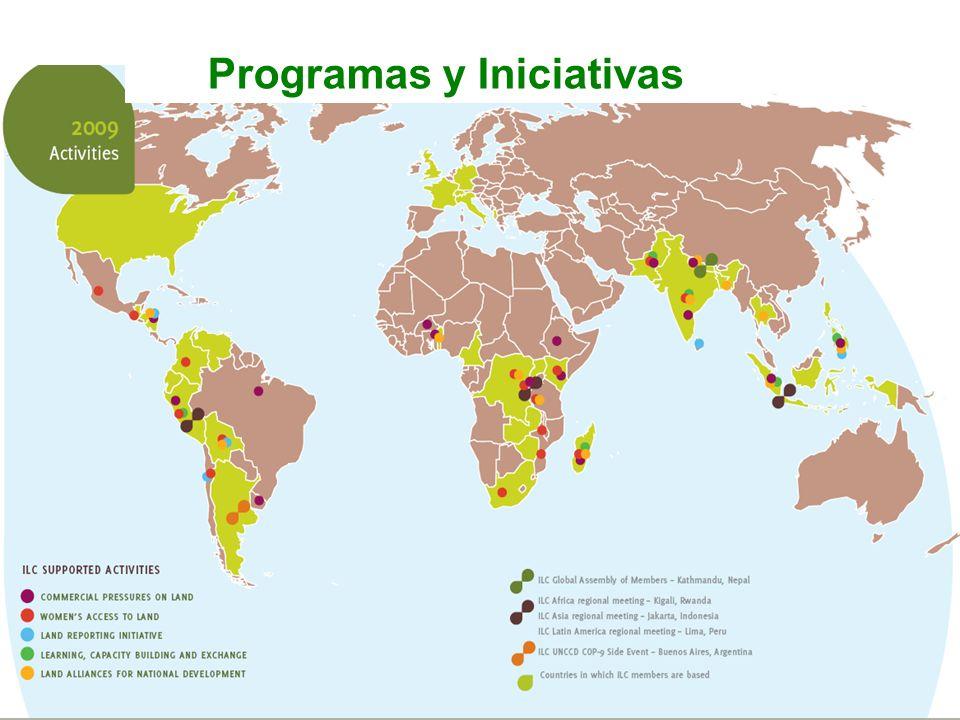 Programas y Iniciativas