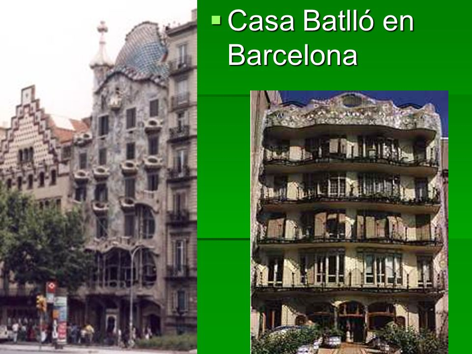 Casa Batlló en Barcelona Casa Batlló en Barcelona