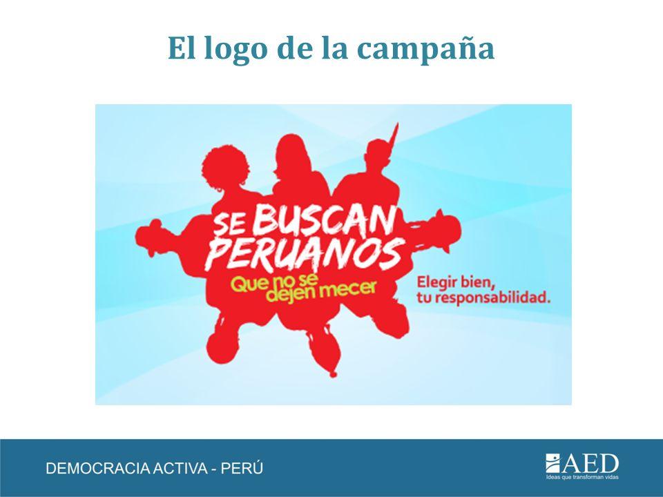 El logo de la campaña
