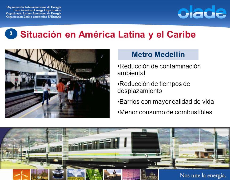 Metro Medellín Reducción de contaminación ambiental Reducción de tiempos de desplazamiento Barrios con mayor calidad de vida Menor consumo de combusti