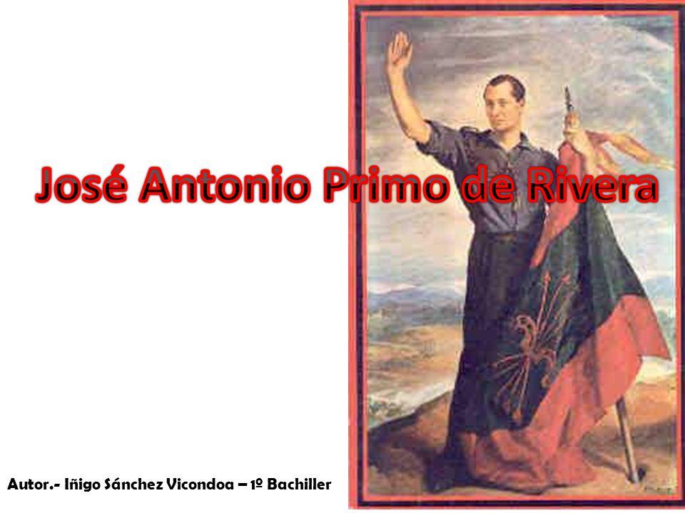 Autor.- Iñigo Sánchez Vicondoa – 1º Bachiller