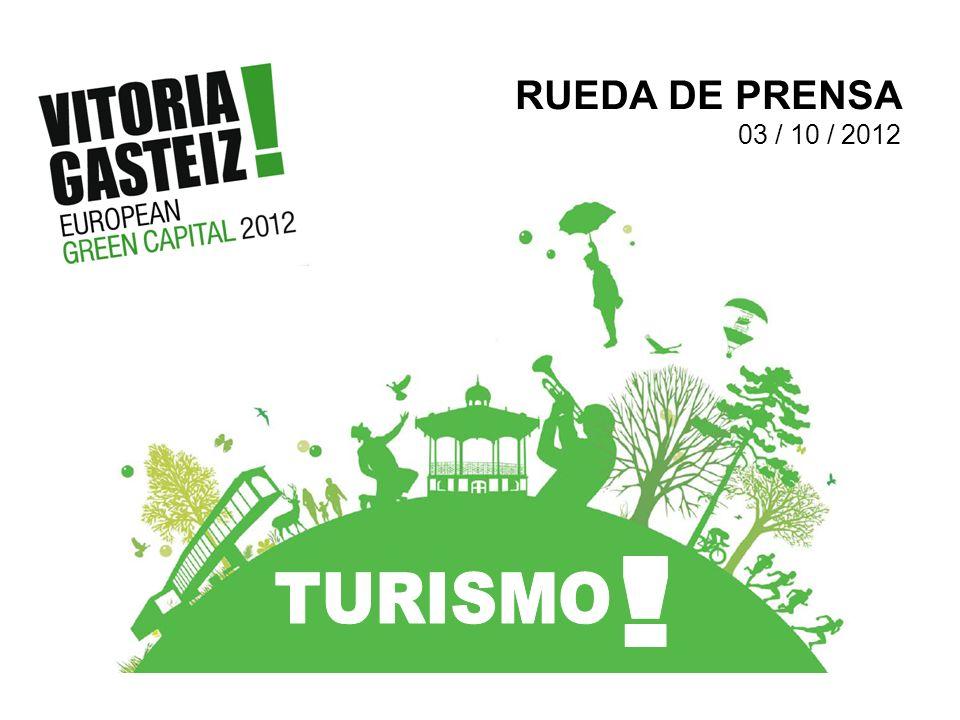 RUEDA DE PRENSA 03 / 10 / 2012