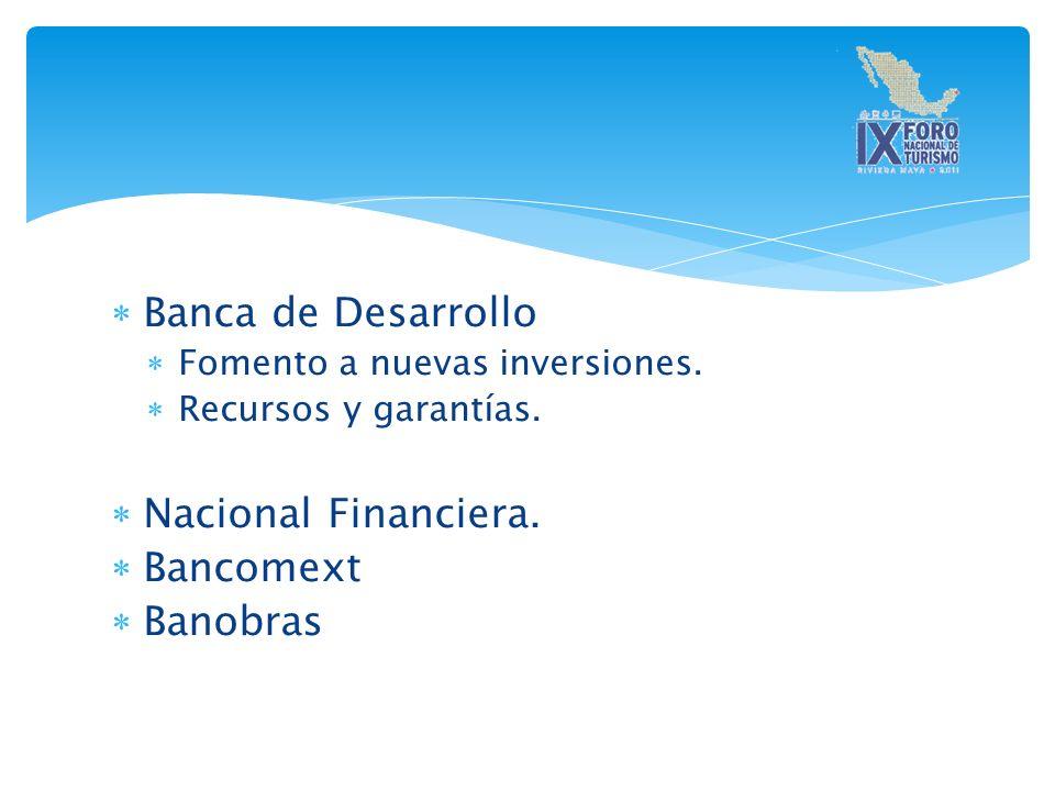 Banca de Desarrollo Fomento a nuevas inversiones.Recursos y garantías.