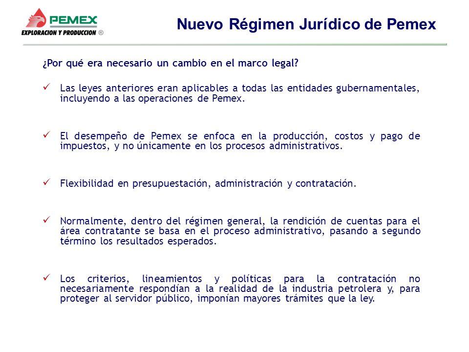 ¿Por qué era necesario un cambio en el marco legal? Las leyes anteriores eran aplicables a todas las entidades gubernamentales, incluyendo a las opera
