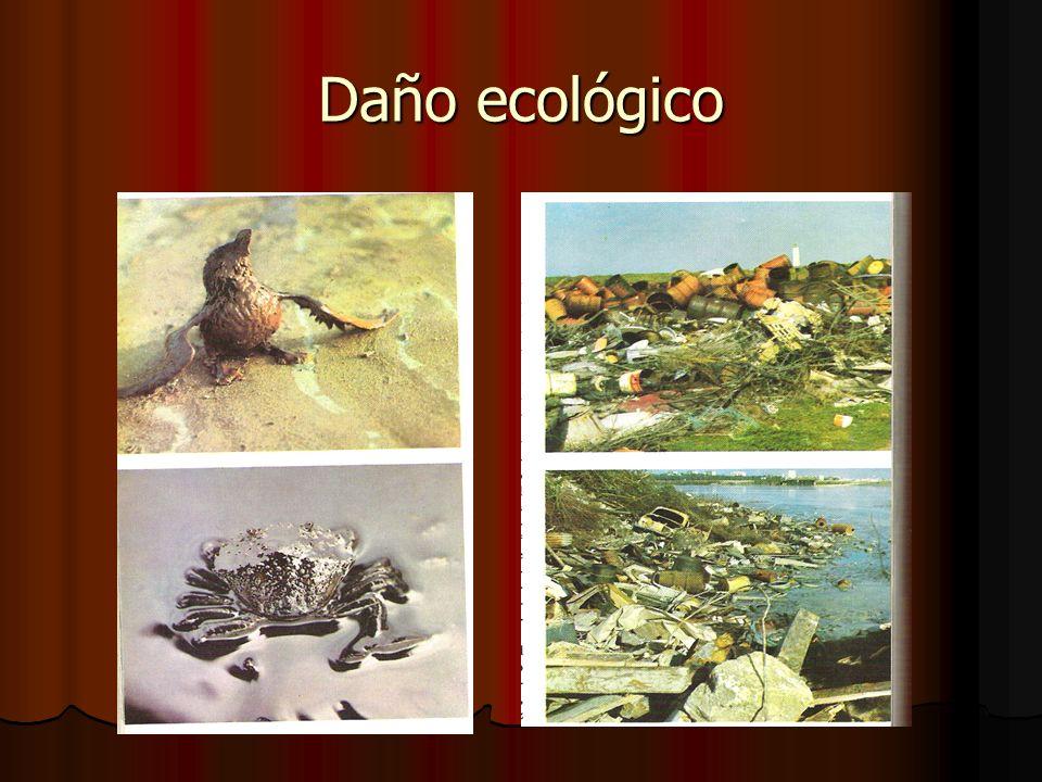 Daño ecológico