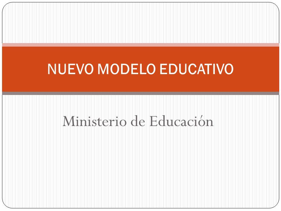 NUEVO MODELO EDUCATIVO Ministerio de Educación