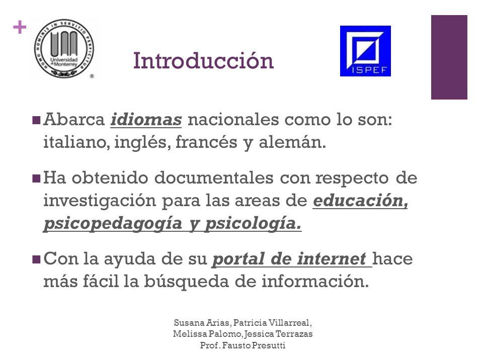 + Paso 1: Entrar a la página: www.biblioteca.istitutodeglinnocenti.it En la página principal encontrarás información con respecto de la biblioteca y se desplegara en la parte izquierda un menu que te ayudara a encontrar lo que requieres de acuerdo a tu investigación.
