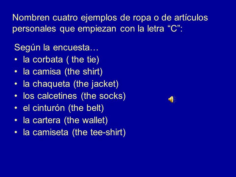 4.¿Cómo se dice en español Its a bargain. (deal) Es una ganga.