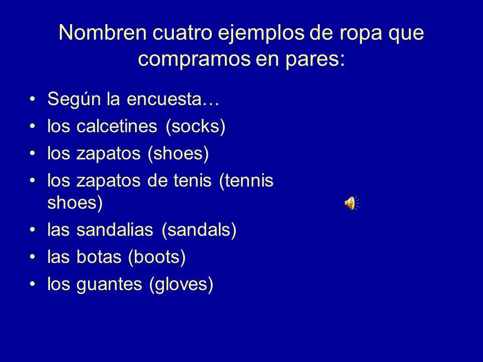 3.¿Cómo se dice en español The price is fixed. (set) El precio es fijo.