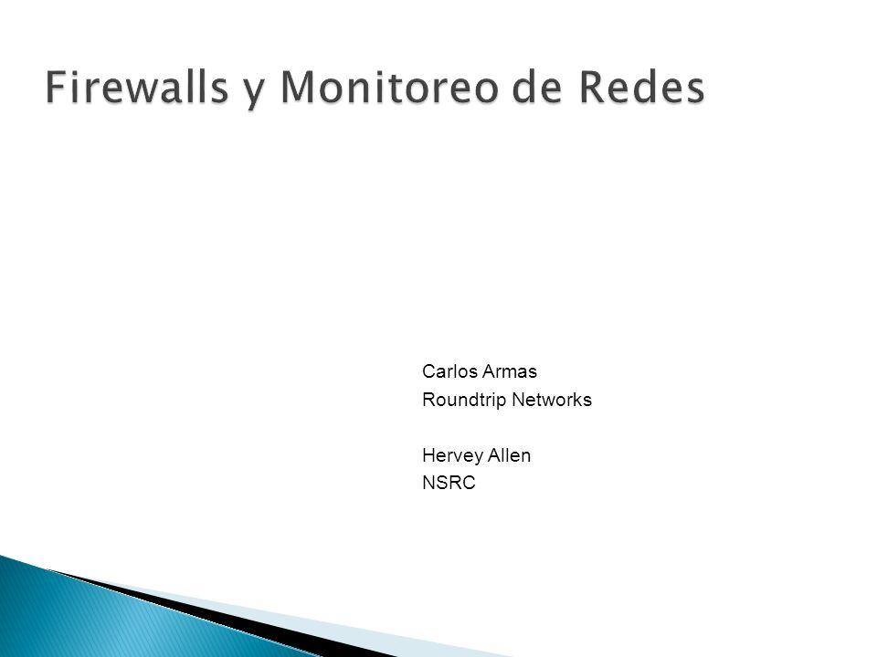 Necesidad de monitorear servicios Necesidad de proteger los servicios de red Recordar la triada de seguridad: Confidencialidad Integridad Disponibilidad Si no se monitorean los servicios, la disponibilidad sufre