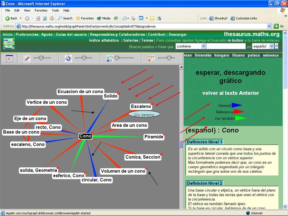 JORNADAS PROVINCIALES SOBRE COMPETENCIAS BÁSICAS EN MATEMÁTICAS Y LENGUA 31 de enero y 1 de febrero de 2007 Clic derecho