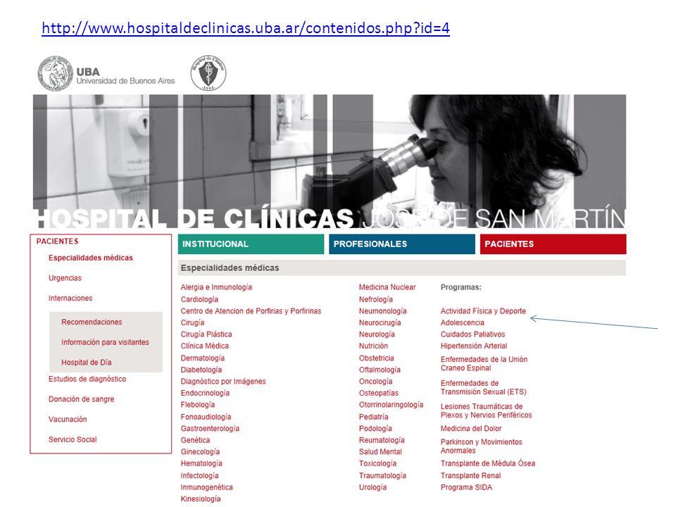 http://www.hospitaldeclinicas.uba.ar/contenidos.php id=4