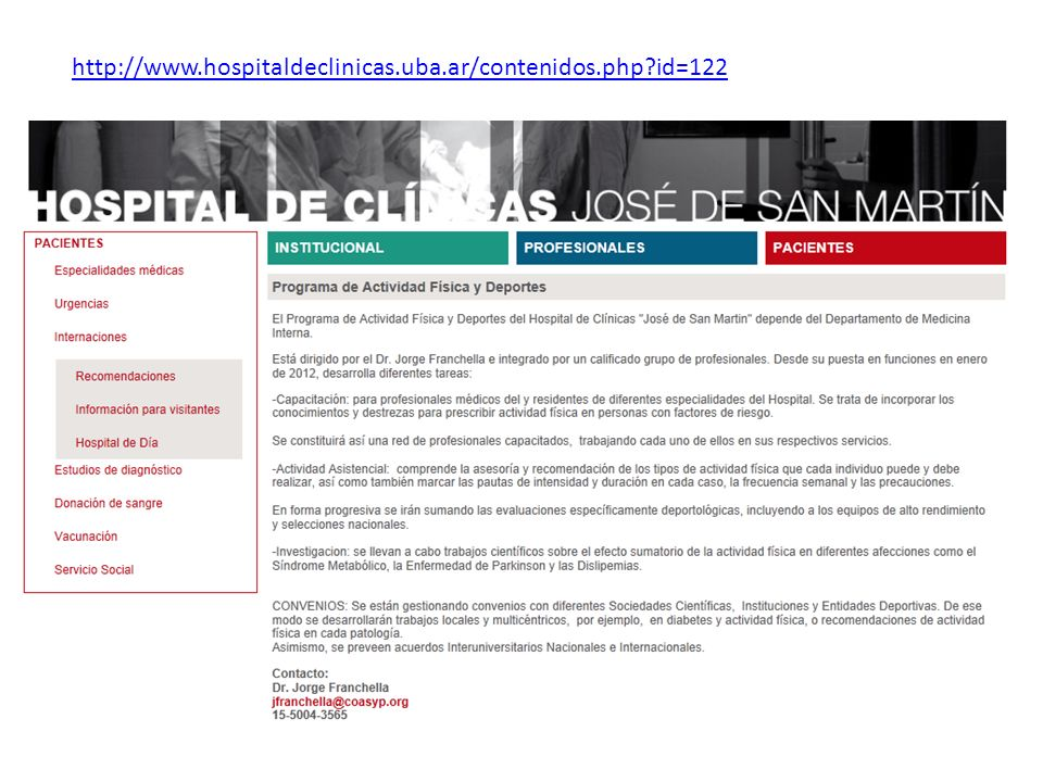 http://www.hospitaldeclinicas.uba.ar/contenidos.php id=122