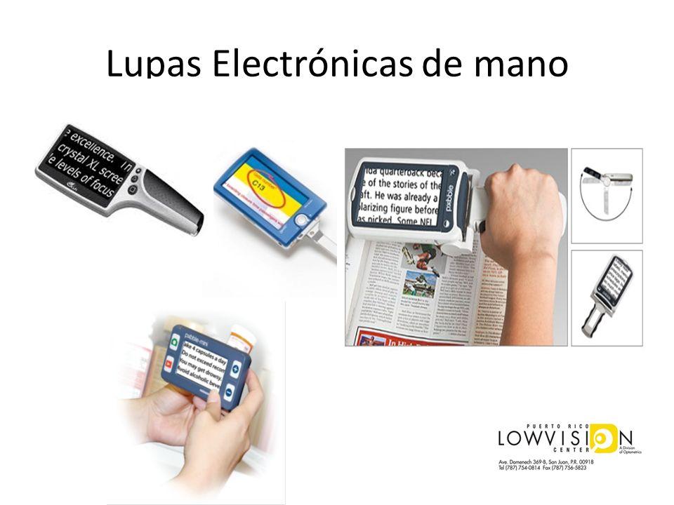 Lupas Electrónicas de mano