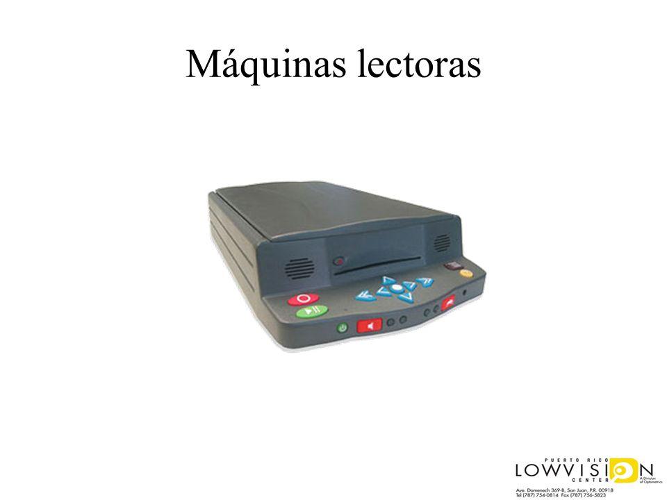 Máquinas lectoras