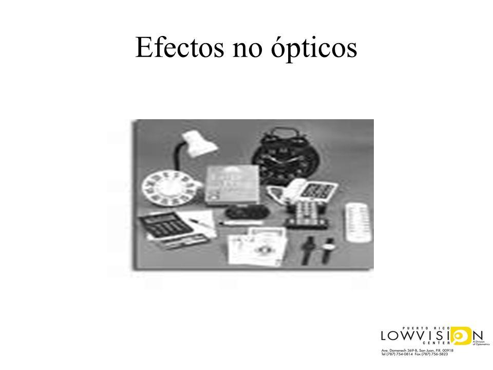 Efectos no ópticos