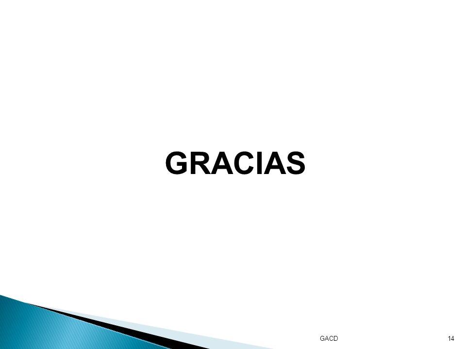 GACD14 GRACIAS