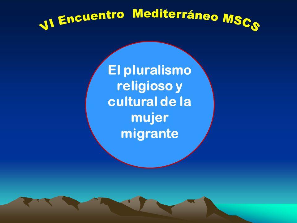 El pluralismo religioso y cultural de la mujer migrante