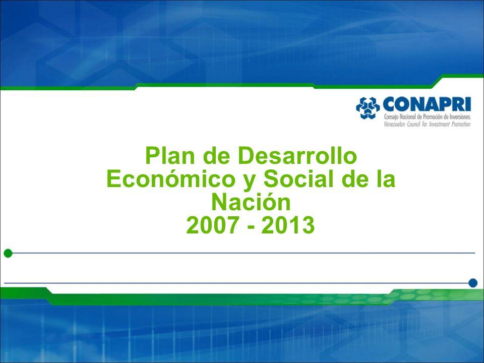 Plan de Desarrollo Económico y Social de la Nación 2007 - 2013