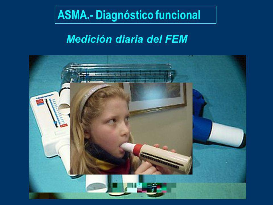 ASMA.- Diagnóstico funcional Medición diaria del FEM