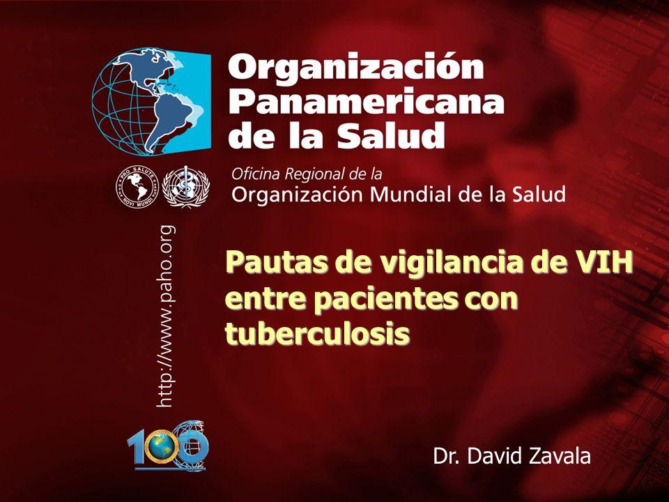 2003 Organización Panamericana de la Salud Taller sobre coinfección TB/VIH San Pedro Sula, Honduras, agosto 2003 1....